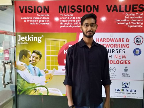 Himanshu Sharma as Network support in Hindustan times