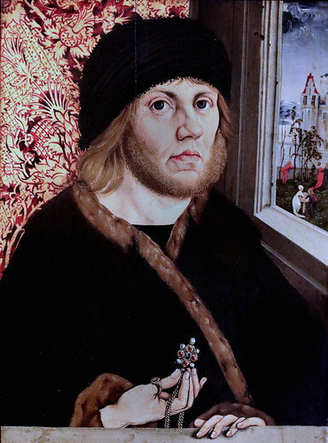IMG_3141IA Wolfgang Beurer 1480-1500 actif sur le Rhin Moyen vers 1480-1500  Portrait of Johann von Rückingen  1487 Madrid Musée Thyssen Bornemisza