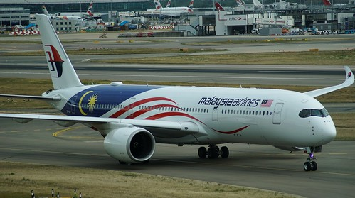 9M-MAF A350-941 Malaysia Airlines @ LHR