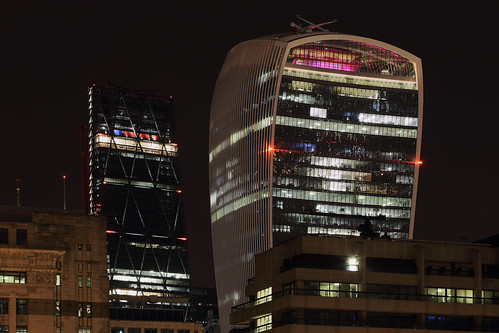 London - Cheesegrater and Walkie-Talkie