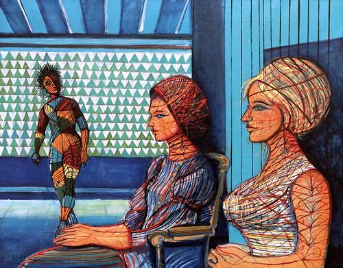 IMG_3788A Jean Carzou 1907-2000 France  Emancipation 1985 Augsburg  Glaspalast Kunstmuseum Walter.