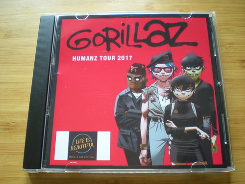GORILLAZ - Life is Beautiful Festival Las Vegas USA 24th September 2017 (SBD)