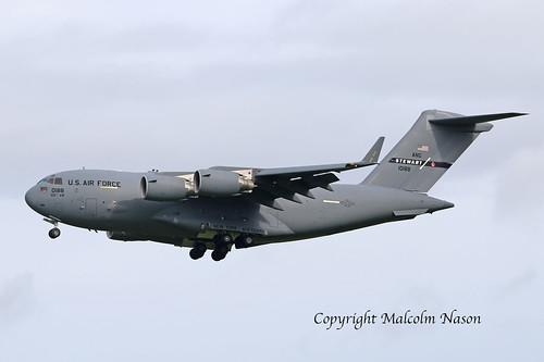 C17A GLOBEMASTER 3 01-0188 USAF NEW YORK ANG