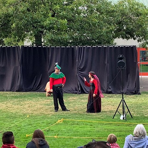 Shakespeare, or Star Trek. You decide (it's a live performance of TNG's Qpid)