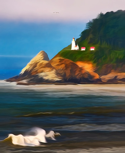 Pacific Coastal California Lighthouse Impressions