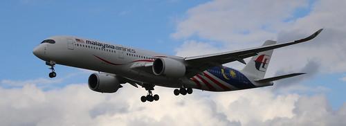 9M-MAF A350 MALAYSIA