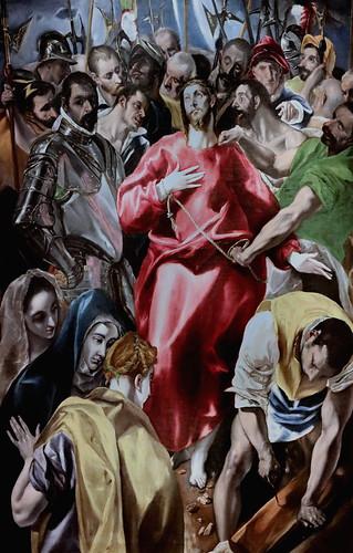 IMG_8545 Domínikos Theotokópoulos, dit Le Greco 1541-1614 Tolède. Le déshabillage du Christ   The Disrobing of Christ   ca 1585 Museo Santa Cruz  Toledo Oeuvre de l'atelier  Work of the workshop