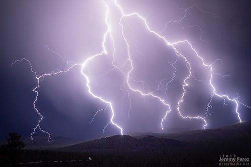 4 September 2019 — Sunset Crater National Monument — Lightning Strike