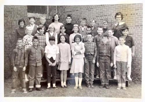 1974 AHS future alumni 5th grade class photo Meeker Elementary School taken September 1966  Ames Iowa  #AmesHighClassof1974 #AHSClassPhoto #1974ClassPhoto