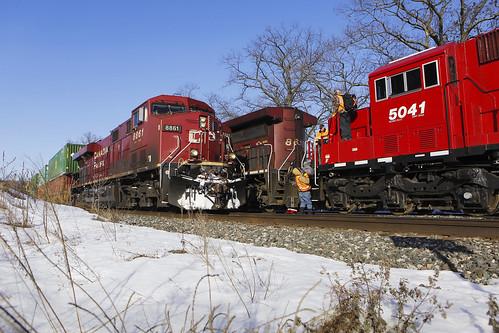 CP Rail meet at Weaver Siding