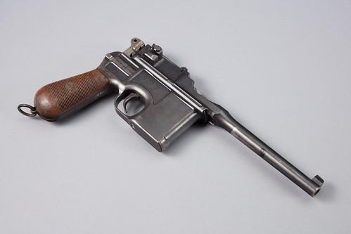 Mauser Military Model C 1896 Semi-Automatic Pistol