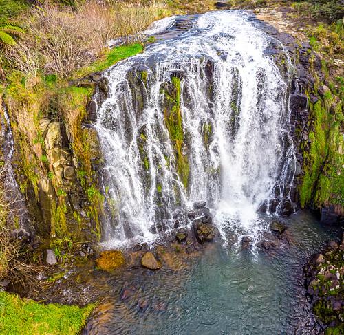 Owharoa Falls Aerial-16