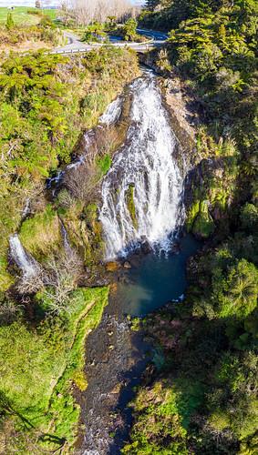 Owharoa Falls Aerial-2