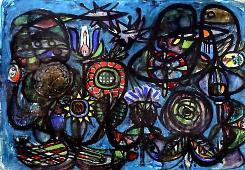 IMG_2384J Asger Jorn 1914-1973 Danemark  Komposition 1941 Aalborg.  Museum of Modern Art   Denmark