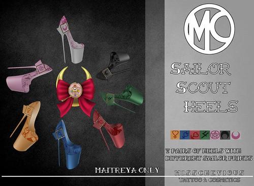 Misschevious - Sailor Scout Shoes Vendor