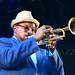 Jeremy Pelt, Carl Allens Art Blakey Tribute, Charlie Parkier Jazz Festival, Tompkins Square Park