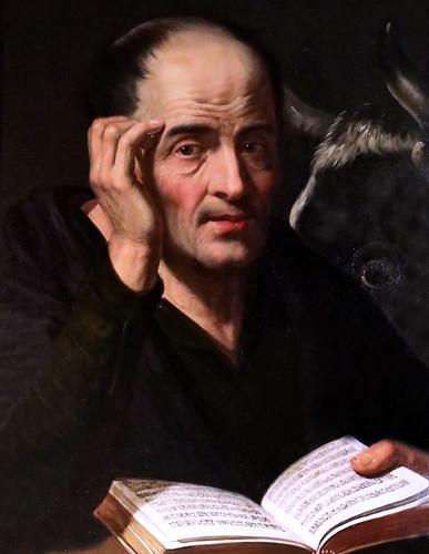 IMG_0061FN Artus Wolfaert 1581-1641 Anvers  Saint  Luc Besançon Musée des Beaux Arts