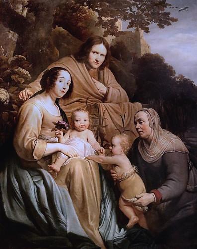 IMG_0061G Pieter de Grebber 1600-1653 Haarlem Portrait de famille en Sainte Famille. Family portrait in Holy Family 1631 Besançon Musée des Beaux Arts