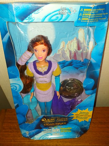 Quest of camelot kayley doll