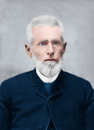 1890 (about) - Plutarch Hines Dorsey (1833-1915) [Colorized]