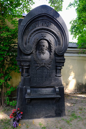 XE3F8763 - Modest Músorgski (Модест Мусоргский), Tikhvin Cemetery (Saint Petersburg)