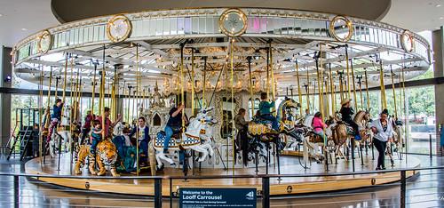 2019 - Road Trip - 16 - Spokane Riverfront Park - Looff Carousel