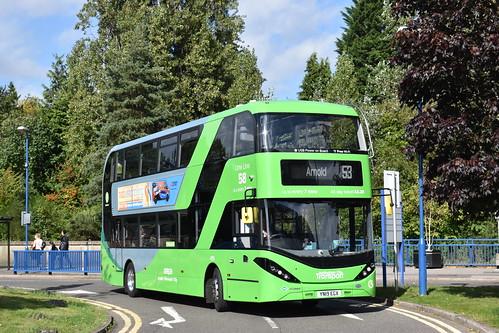 Nottingham City Transport 495