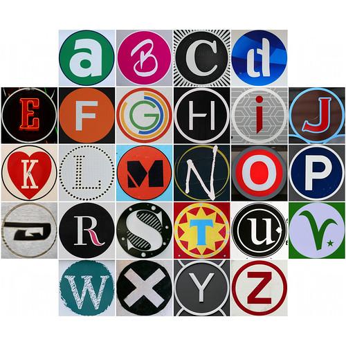 Squircle Alphabet 13