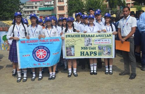 Awareness Rally on Swachhta Pakhwara