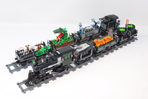LEGO Halloween Village Train