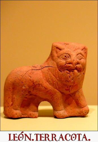 León, terracota, época grecorromana, siglos IV a.C. - IV d.C.,