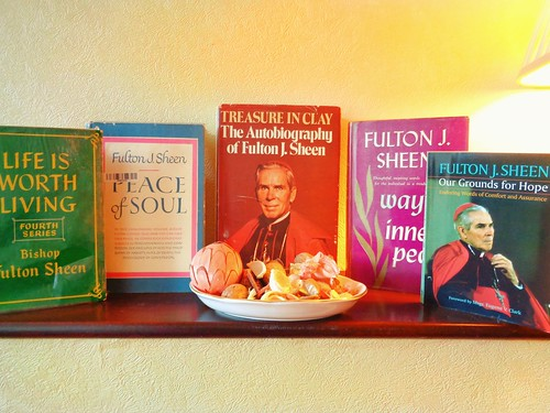 Books by Catholic Theologian Bishop Fulton Sheen