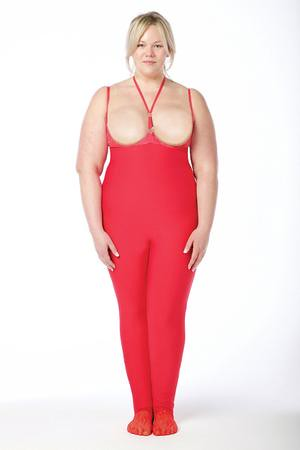 BABE YOU_Red_base_garment_BABE YOU_Body_Shaper