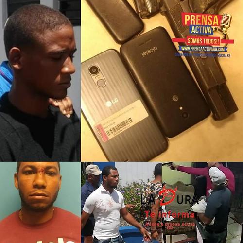 PN en Cotui Desmantelan presunta banda de asaltantes.