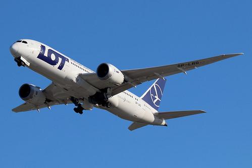SP-LRG   Boeing 787-8 Dreamliner   LOT Polish Airlines