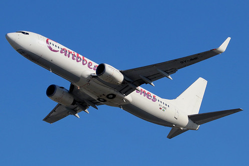 9Y-JME   Boeing 737-86J/W   Caribbean Airlines