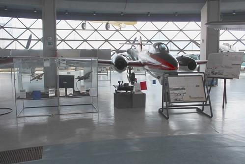 161: IKARUS-S-451 MM sugárhajtású kutató-repülő gépágyúcsővel felszerelve (IKARUS-S-451 MM jet research aircraft with cannon)
