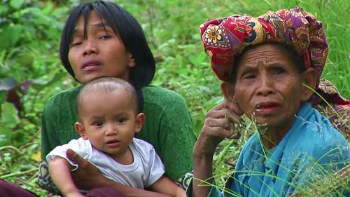 Indonesia - Sulawesi - Tanah Toraja - Three Generations