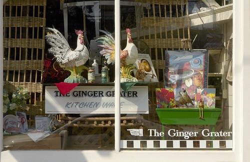 Ginger Grater Window - La Conner WA