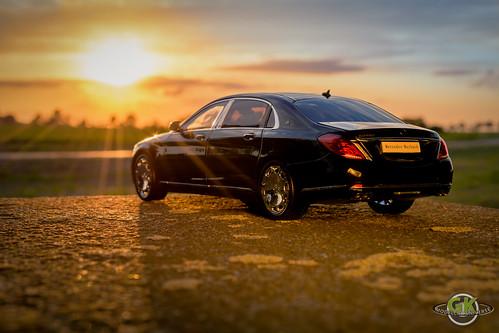 Mercedes-Maybach S-Klasse S600 V12 Bi-Turbo Almost Real 1:18