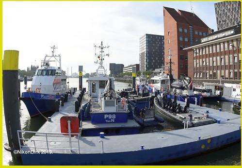 Dutch Sea Port Police Fish Eye.