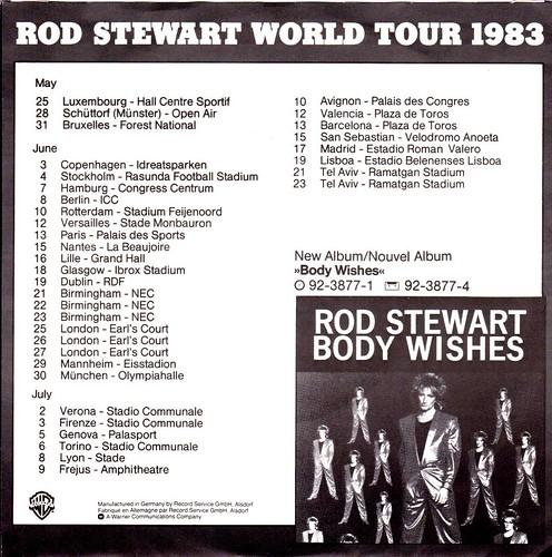 Stewart, Rod - Baby Jane - D - 1983-