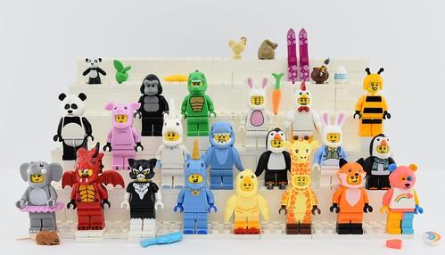 🐘🐔🐤Every LEGO Animal Minifigure EVER MADE !🐷🐲🐰