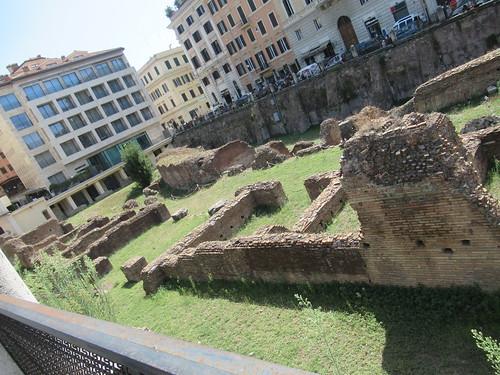 Ancient Roman Tunnel from Gladiator Training School to Colosseum sLudus Magnus (07-09-19)