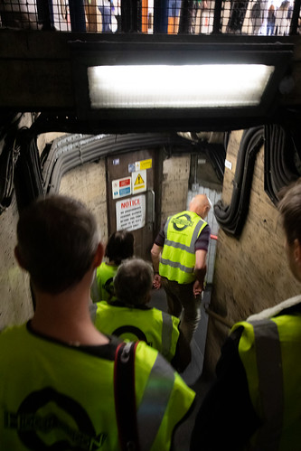 Descending below the ticket hall | Piccadilly Circus Tour | Hidden London-2