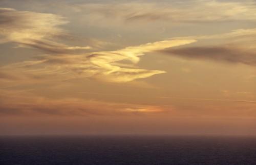 Dove descending from heaven