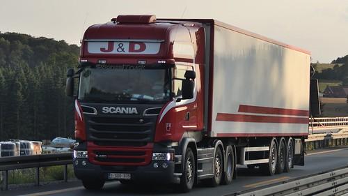 B - J & D  Scania R13 450 TL