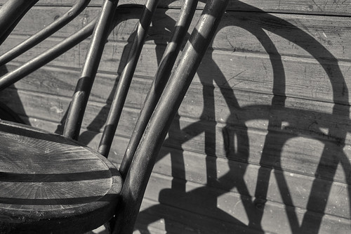 Leaning chairs