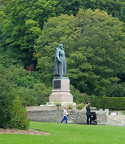 Father Marquette Statue in Marquette Park