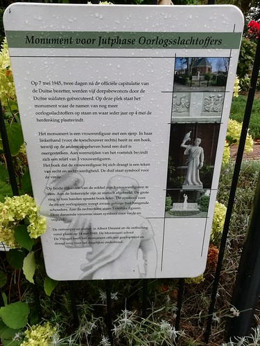 Monument voor Jutphase oorlogsslachtoffers